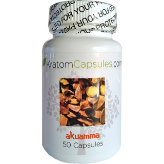 Akuamma Capsules Kratom Alternative (50 Capsules)